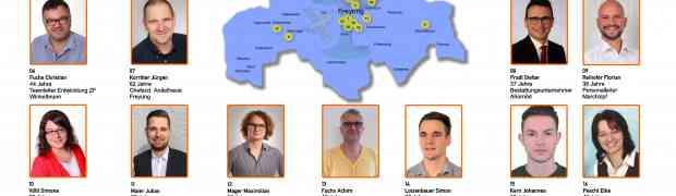 Unsere Mannschaft zur Stadtratswahl am 15.03.2020